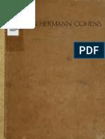Judaica Festschrift Zu Hermann Cohen