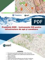 GIS în administrarea rezelelor de apa si canalizare