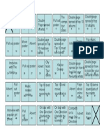 flat plan template my magazine