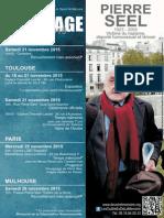 Affiche Hommage 10ans Pierre Seel