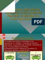 Ecuaciones de Maxwell. Inductancia, Auto Inductancia.