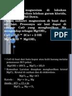 karakteristik logam magnesium