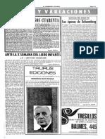 (1970) Músicos Del Siglo XX - Las Épocas de Schoenberg, Viernes, 11 Diciembre , Página 43