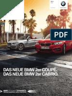 BMW 2er Coupe u Cabrio Katalog