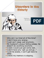 Sleep Disorders in the Elderly20101