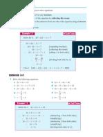 grade 7 myp 2 solving equations 13f