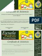 Certificado Escuela de Padres 2015