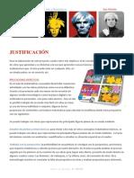 Proyecto Andy Warhol. De  Ana Galindo