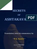Secrets of Ashtakavarga (1)