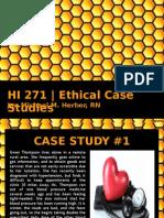 HI 271 - Case Studies