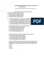 Ejercicios de Lenguaje (50 Preguntas Tipo Para Prepararse en Exámenes de Admisión a La Universidad)