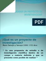 Como Elaborar Un Proyecto de Investigacion