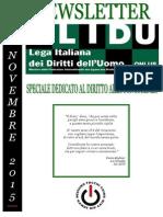 Speciale del Bollettino della Lega Italiana dei Diritti dell'Uomo (LIDU) sul diritto umano alla conoscenza