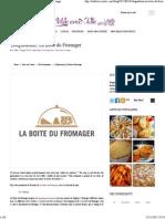 A Table Avec Julie – {Dégustation} La Boite Du Fromager