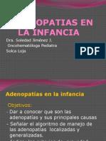 Adenopatias en La Infancia