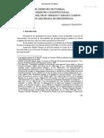 1. El Derecho de Familia y El Derecho Constitucional