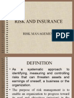 Risk Management - Chap 2