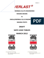 Safe Load Tables Draft 010312