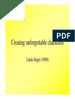 Linda-Seger Building of Characters