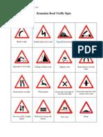 Romanian Road Traffic Signs (1)