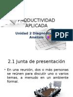Unidad 2 Diagnostico y Analisis