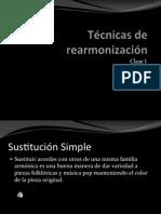 Tecnica de Rearmonizacion 1