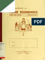 A Habdbook in Home Economics