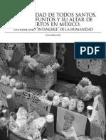 Elsa Malvido. La festividad de Todos Santos, Fieles Difuntos y su Altar de Muertos en México