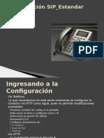 Configuración Estandar Sip