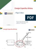 10 Energía Especifica Minima-Flujo_critico