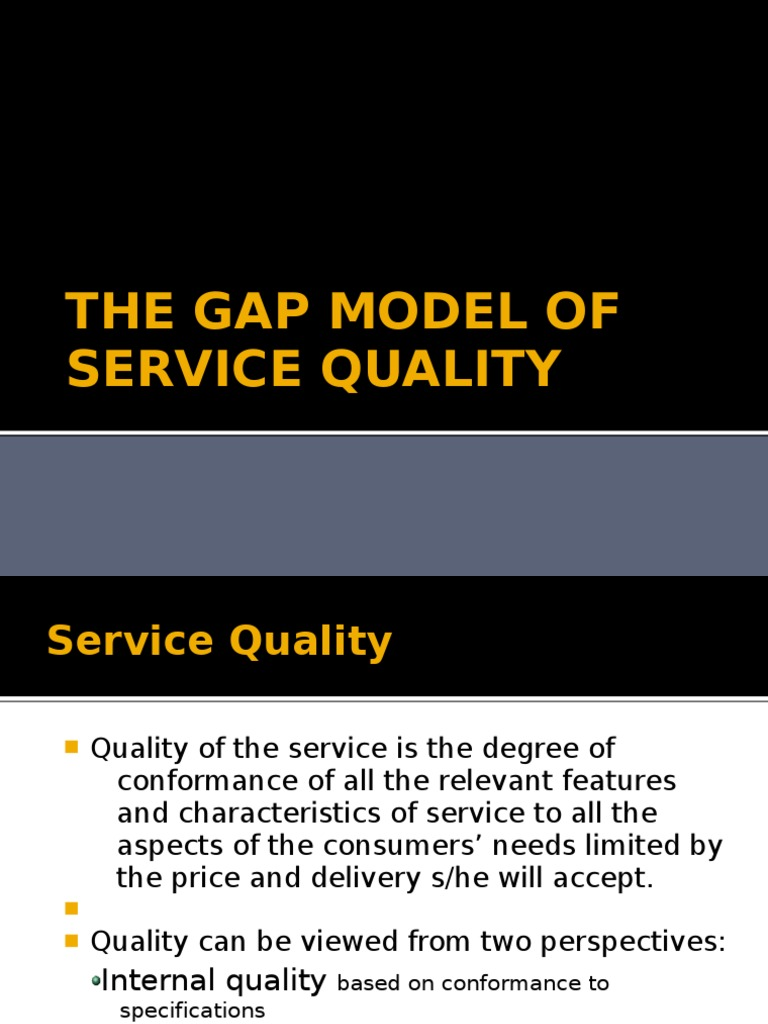 The gap model of service quality marketing communications market the gap model of service quality marketing communications market economics malvernweather Gallery