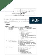 Programa de Fundamentos de Gestion Empresarial