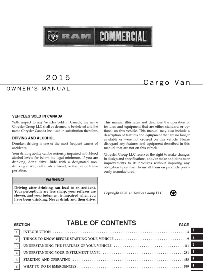 2015 Ram Commercial Cargo Van Om 3rd Motor Vehicle Vehicles 229 593 Mopar Fuse Box