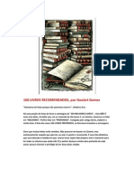 100 Livros Recomendados, Por Goulart Gomes