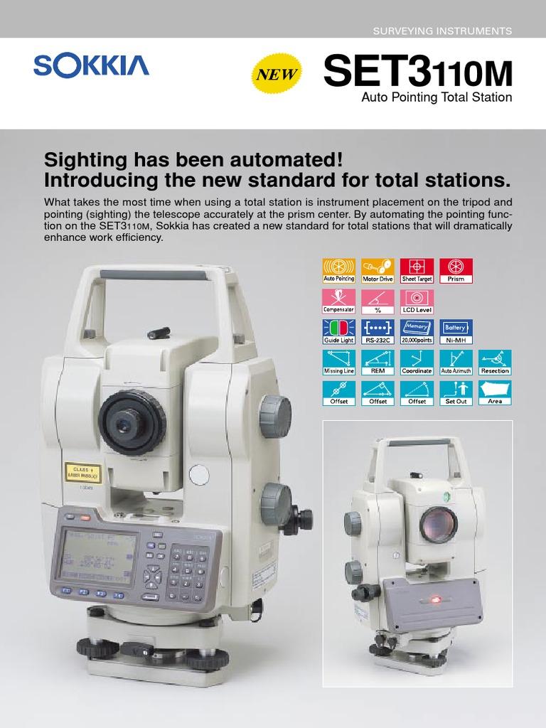 Total Station SokkiaSET3110M Surveying