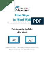 firststepsinwordwallweekminilessonwwordcardsebooks