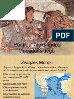 prezentacja Podboje Aleksandrera Wielkiego