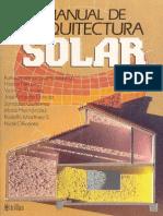Ruth Lacomba - MANUAL DE ARQUITECTURA SOLAR
