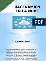 Almacenamiento en La Nube Diapositivas (1)