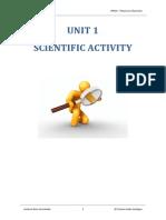 UNIT 1 - Scientific Activity v4.0