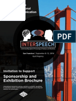 Interspeech 2016 - Sponsorship & Exhibitor Opportunities