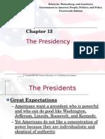 ch  13 presidency