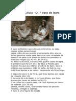 OS 7 TIPOS DE LEPRA