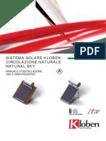 Manuale Di Installazione Uso e Manutenzione Natural Sky