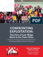 FINAL- Confronting Exploitation - CTUL Report on Low-wage Economy (English&Spanish for Print)