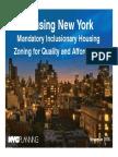 Manhattan Community Board 2 ZQA / MIH Presentation by Department of City Planning