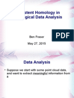 Topological Data Analysis Presentation