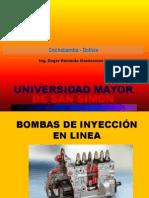 Bomba de Inyección en Linea