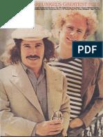 Simon & Garfunkel's Greatest Hits.pdf