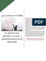 8 Informe de Veeduria Cese Unilateral Se Necesita Cese Bilateral Al Fuego y Garantias Reales de No Repeticion